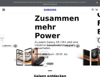galaxys4-familie.samsung.de screenshot
