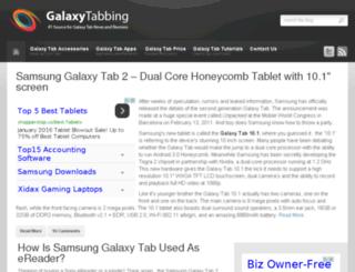 galaxytabbing.com screenshot