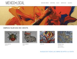 galeriamexicolocal.com screenshot