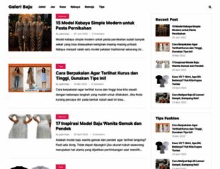 galeribaju.com screenshot