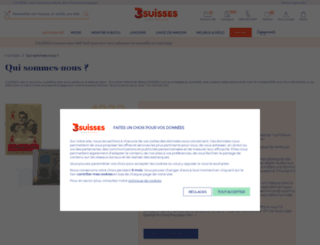 Access soldes 3suisses achats mode for 3 suisses linge de maison soldes