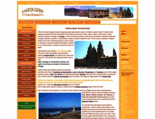 galiciaguide.com screenshot