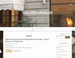 galleriapuglisi.it screenshot