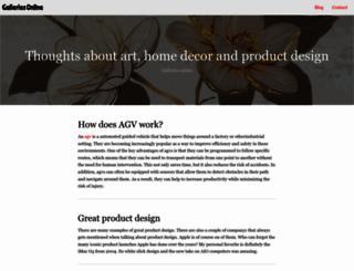 galleries-online.co.uk screenshot