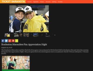 galleries.ticketsarasota.com screenshot