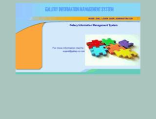 gallery-cz.com screenshot