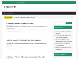 gallery-n.com screenshot