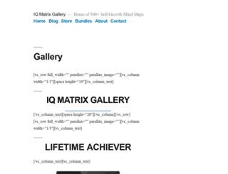 gallery.iqmatrix.com screenshot