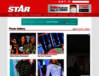 gallery.jamaica-star.com screenshot