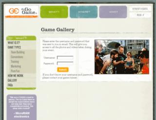 gallery.thegogame.com screenshot