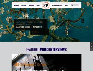 galleryintell.com screenshot