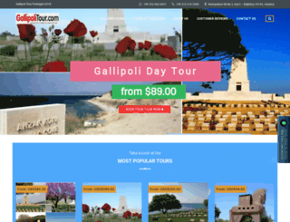 gallipolitours.net screenshot