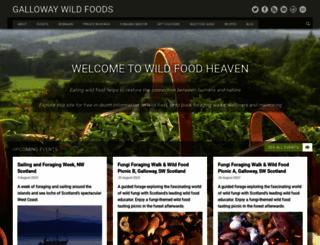 gallowaywildfoods.com screenshot