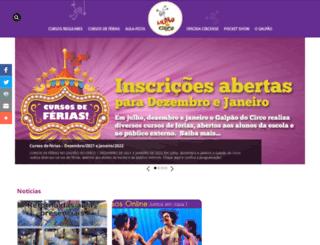 galpaodocirco.com.br screenshot