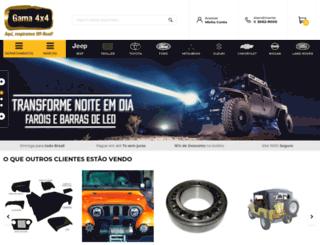 gama4x4.com.br screenshot