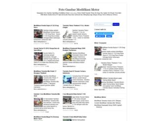 gambar-modifikasimotor.blogspot.com screenshot