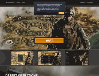 game.desert-operations.cz screenshot
