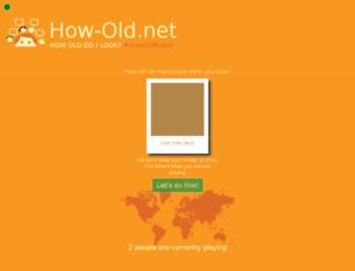 game.how-old.net screenshot