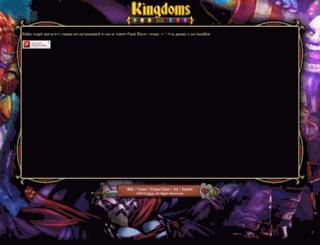 game.kingdomsccg.com screenshot
