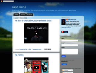 gamecatur.blogspot.com screenshot