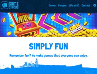 gamecircus.com screenshot