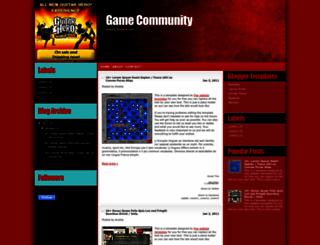 gamecommunity-splashy.blogspot.com screenshot