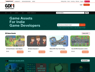 gamedevmarket.net screenshot