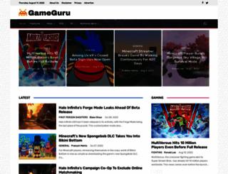 gameguru.in screenshot