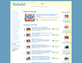 gamehouse-word-collection.relaxlet.com screenshot