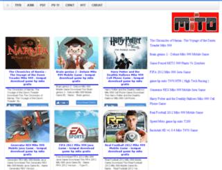 gamehpmito.blogspot.com screenshot
