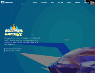 gameloft.co.uk screenshot