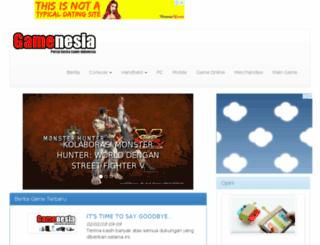 gamenesia.com screenshot
