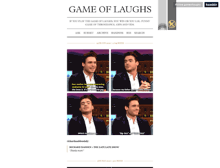 gameoflaughs.tumblr.com screenshot