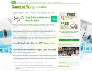 gameofweightloss.com screenshot