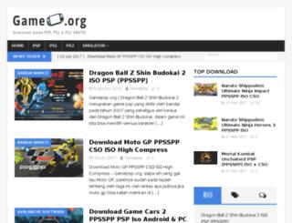 gamepsp.org screenshot