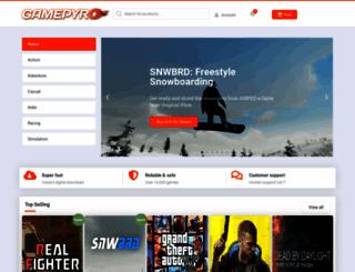 gamepyro.com screenshot