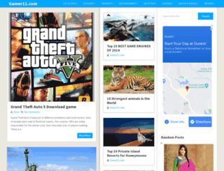 gamer11.com screenshot