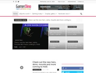gamerdino.com screenshot