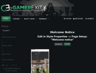gamerexit.com screenshot