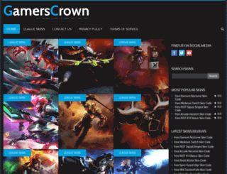gamerscrown.com screenshot