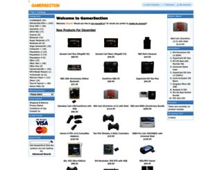 gamersection.com screenshot