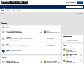 gamerseden.com screenshot