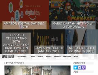 gamershavennews.com screenshot