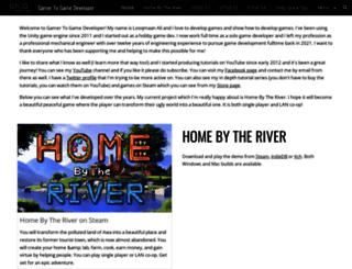 gamertogamedeveloper.com screenshot