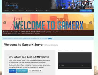 gamerxserver.com screenshot
