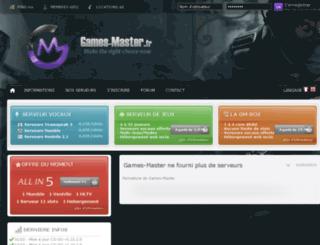 games-master.fr screenshot