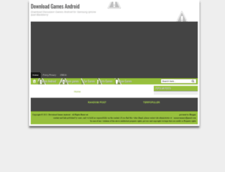 gamesandroiddownload.blogspot.com screenshot