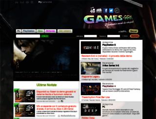 gamesark.it screenshot