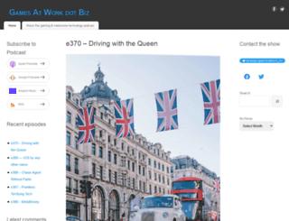 gamesatwork.biz screenshot