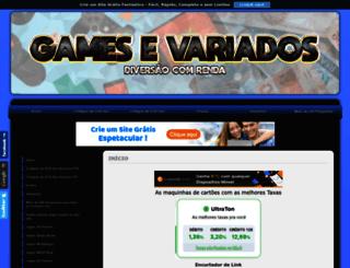 gamesevariados.comunidades.net screenshot